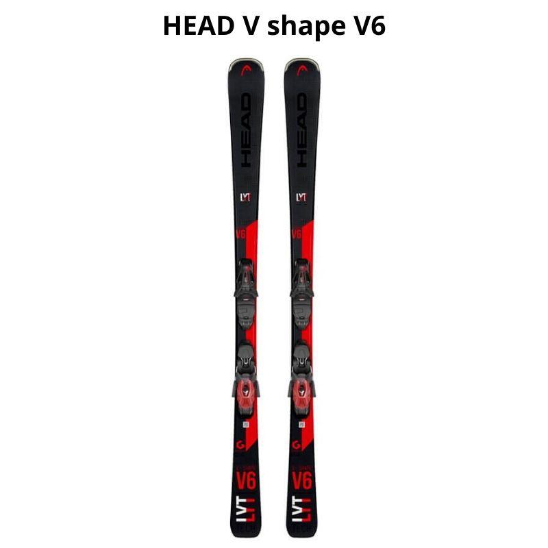 HEAD V shape V6