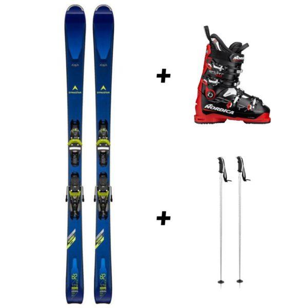 Location pack de ski noir
