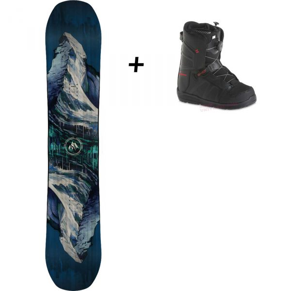 location snowboard et boots