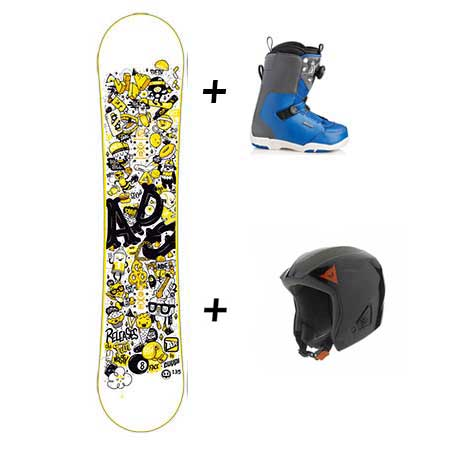 Location snowboard junior