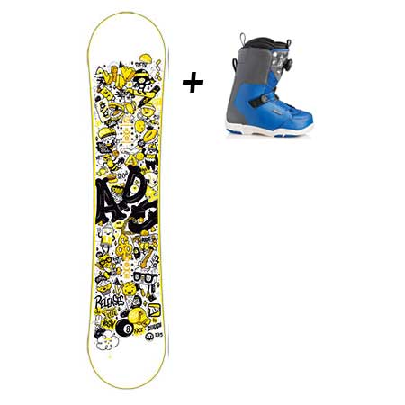 Location pack snowboard