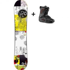 Location snowboard et boots